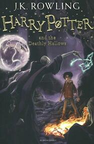 Harry Potter and the Deathly Hallows - J K Rowling (ISBN 9781408855713)