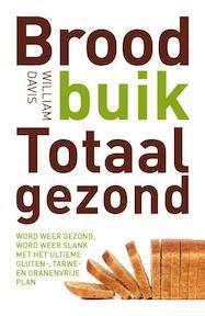 Broodbuik Totaal Gezond - William Davis (ISBN 9789021557908)