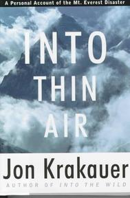 Into Thin Air - Jon Krakauer (ISBN 9780679457527)