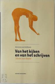 Van het kijken en van het schrijven - Marianne van Kerkhoven (ISBN 9789056174378)