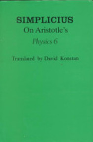 Simplicius on Aristotle's Physics 6 - Simplicius (Of Cilicia.) (ISBN 9780801422386)