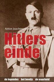 Hitlers einde - Anton Joachimsthaler (ISBN 9789059773042)