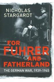 The German War - Nicholas Stargardt (ISBN 9781847921000)