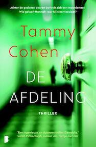 De afdeling - Tammy Cohen (ISBN 9789022582770)