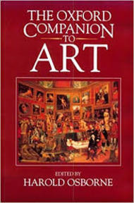 The Oxford companion to art - Harold Osborne (ISBN 9780198661078)