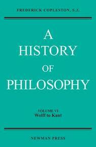 History of Philosophy - Frederick Charles Copleston (ISBN 9780809100705)