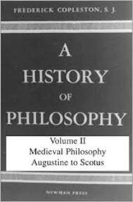 A History of Philosophy Vol. 2: Augustine to Scotus (Vol 2) - Frederick Copleston (ISBN 0855321822)