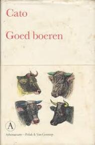 Goed boeren - Cato (ISBN 9789025306366)