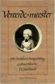 Vereerde meester - Gerard Bodifée (ISBN 9789028916388)