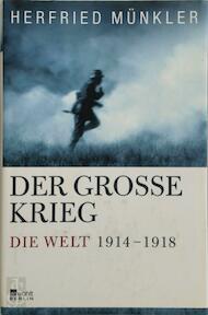 Der Große Krieg - Herfried Münkler (ISBN 9783871347207)