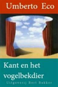 Kant en het vogelbekdier - Umberto Eco, Minne Gerben de Boer (ISBN 9789035121041)