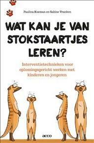 Wat kan je van stokstaartjes leren? Interventietechnieken voor het oplossingsgericht werken met kinderen en jongeren - Paulina Koeman, Sabine Vranken (ISBN 9789462920651)