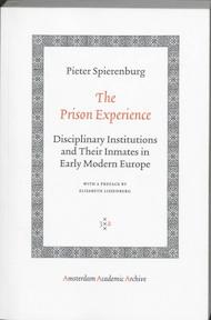 The Prison Experience - Pieter Spierenburg (ISBN 9789053569894)
