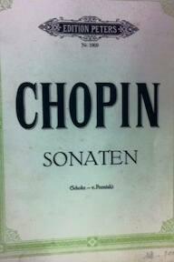 Sonaten - Frédéric Chopin