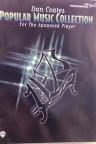 Dan Coates Popular Music Collection for the Advanced Player - Carol Cuellar (ISBN 9780897249386)