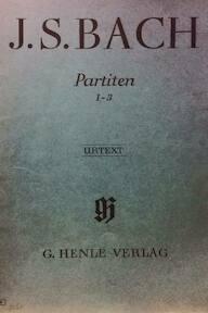 J.S. Bach - Partiten 1-3 / Urtext - Johan Sebastian Bach