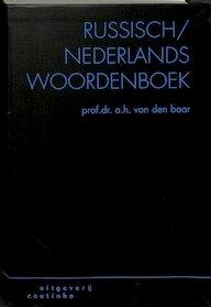 Russisch-Nederlands woordenboek - A.H. van Den Baar (ISBN 9789062839681)