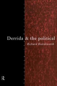 Derrida and the Political - Richard Beardsworth (ISBN 9780415109673)