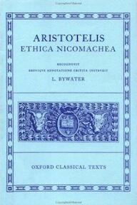 Aristotelis Ethica Nicomachea - Aristoteles, Ingram Bywater (ISBN 9780198145110)