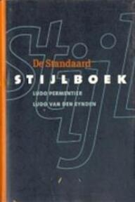 Stijlboek - Ludo Permentier (ISBN 9789053120743)