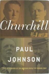 Churchill - Paul Johnson (ISBN 9780670021055)