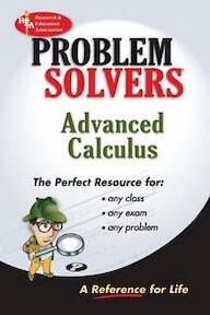 The Advanced calculus problem solver - Max Fogiel, Research And Education Association (ISBN 9780878915330)