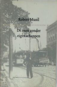 De man zonder eigenschappen - Robert Musil (ISBN 9789051083101)