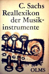 Real-Lexikon der Musikinstrumente - Curt Sachs (ISBN 9783487044583)