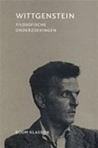 Filosofische onderzoekingen - L. Wittgenstein (ISBN 9789053527863)