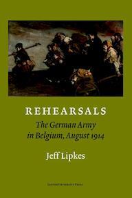 Rehearsals - Jeff Lipkes (ISBN 9789058675965)