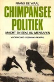 Chimpansee-politiek - Frans B. M. Waal (ISBN 9789023004479)