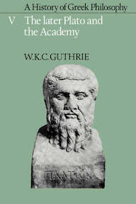 A History of Greek Philosophy - William Keith Chambers Guthrie (ISBN 9780521311021)