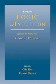 Between Logic and Intuition - Gila Sher, Charles Parsons, Richard L. Tieszen (ISBN 9780521650762)