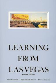 Learning from Las Vegas - Robert Venturi, Denise Scott Brown (ISBN 9780262720069)