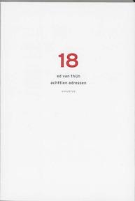 18 adressen - Ed van Thijn (ISBN 9789045700830)