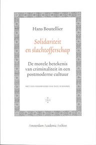 Solidariteit en Slachtofferschap - Hans Boutellier (ISBN 9789053564097)