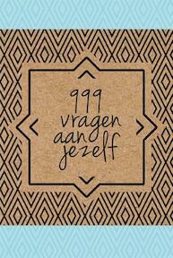 999 vragen aan jezelf (ISBN 9789045318882)