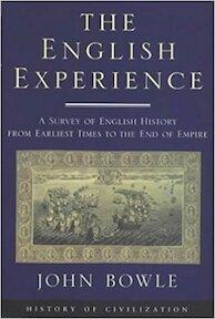 The English Experience - John Bowle (ISBN 9781842120132)