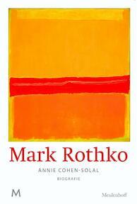 Mark Rothko - Annie Cohen-Solal (ISBN 9789029090247)