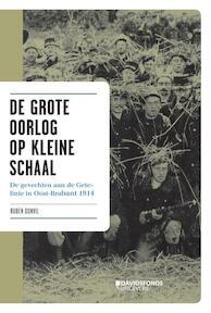 De grote oorlog op kleine schaal - Ruben Donvil (ISBN 9789058268549)