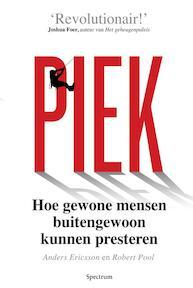 Piek - Anders Ericsson, Robert Pool (ISBN 9789000340644)