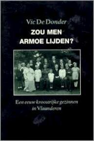 Zou men armoe lijden? - Vic de Donder (ISBN 9789002180620)