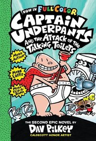 Captain Underpants and the Attack of the Talking Toilets - Dav Pilkey (ISBN 9781407143965)
