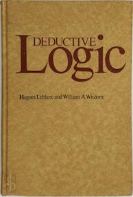Deductive Logic - Hugues Leblanc, William Asbury Wisdom