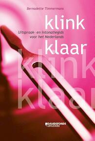 Klink klaar - Bernadette Timmermans (ISBN 9789058269539)