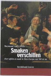Smaken verschillen - Raymond van Uytven (ISBN 9789058266866)