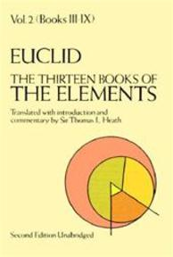 The Thirteen Books of the Elements, Vol. 2 - Euclid (ISBN 9780486600895)