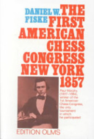 The Book of the First American Chess Congress - Daniel W. Fiske (ISBN 9783283000851)