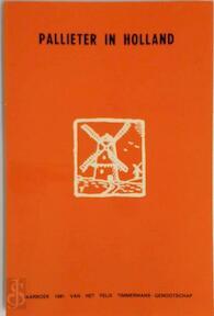 Pallieter in Holland - Felix Timmermans, Louis Vercammen, Felix Timmermans-Genootschap (ISBN 9789026435508)