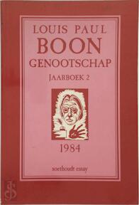 Jaarboek 2 - Louis Paul Boon Genootschap - Louis Paul Boon, E.a. (ISBN 9789063721268)